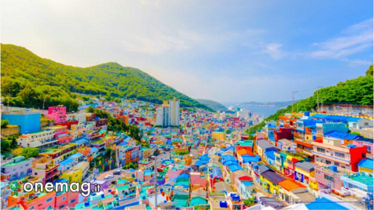 Gamcheon Culture Village, panorama