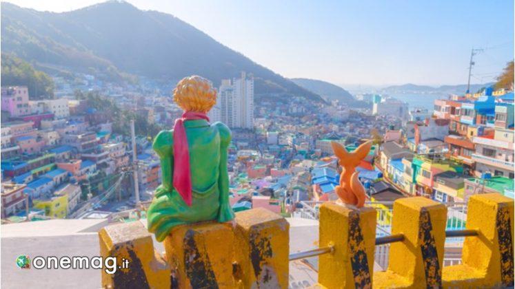 Gamcheon Culture Village, statua del piccolo principe