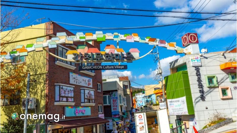 Gamcheon Culture Village, strada