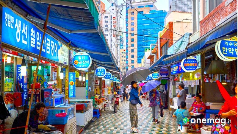 Mercato di Haeundae, Busan