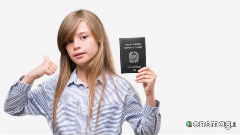 Come richiedere il passaporto per minorenni