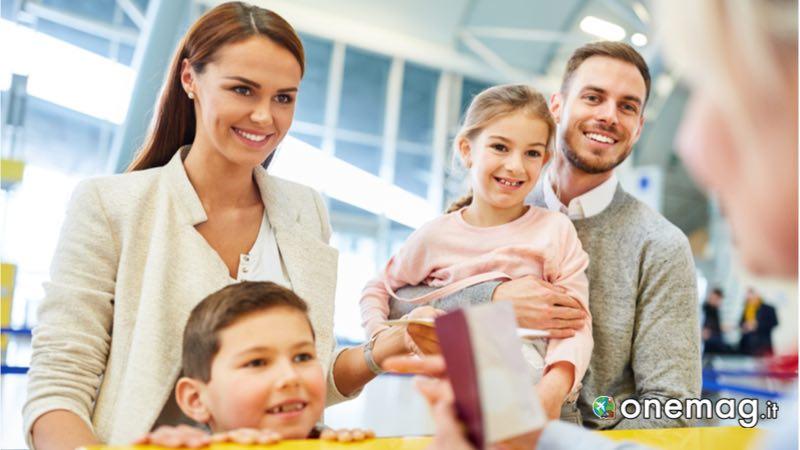 Il passaporto per i minori