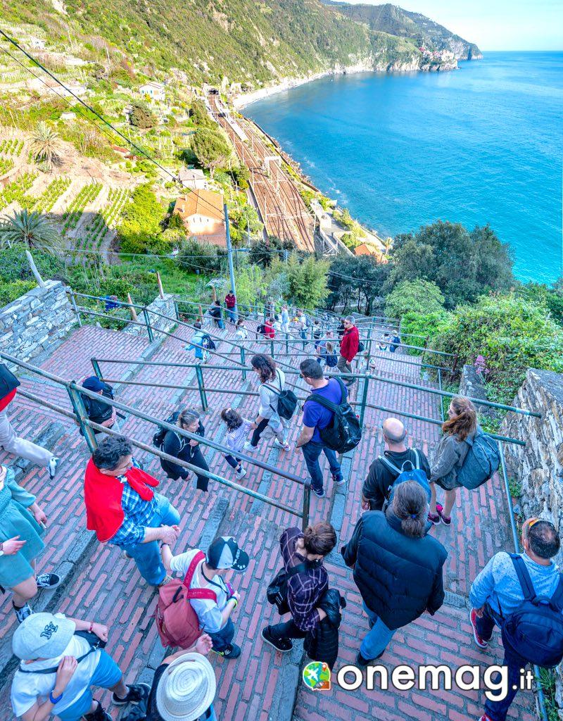 Corniglia Cinque Terre, Scalinata Lardarina