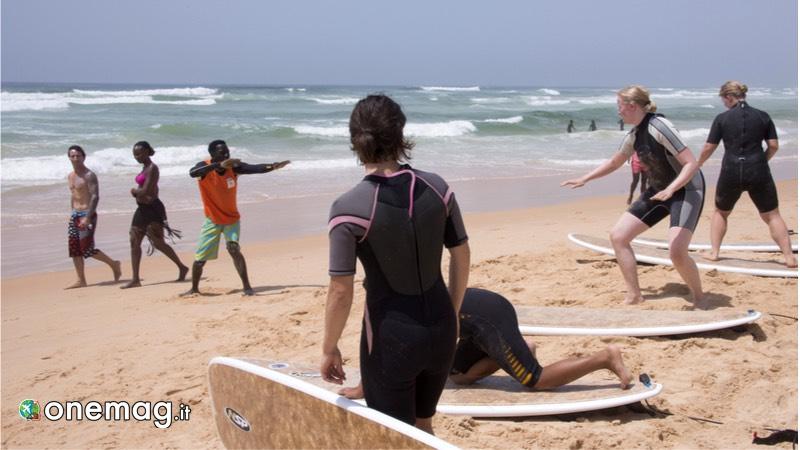 Scuola di surf a Dakar