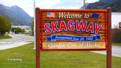 Skagway, cartello