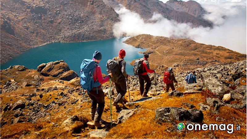 Trekking nelle Himalaya