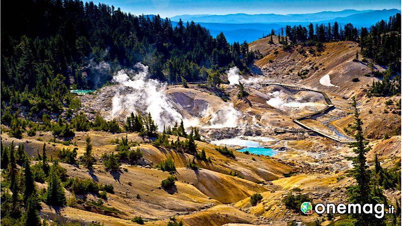 Bumpass Hell, Lassen Volcanic Park, California