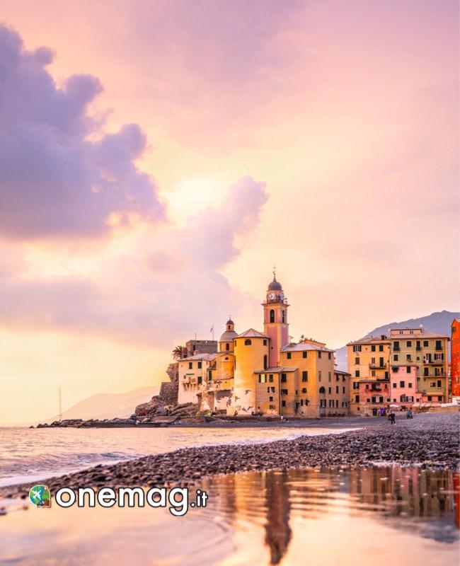 Panorama su Camogli, Liguria