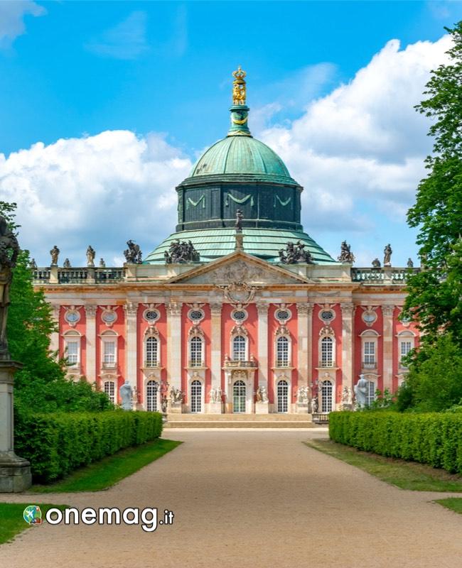 Cupola del Neues Palais, Parco di Sanssouci, Postdam