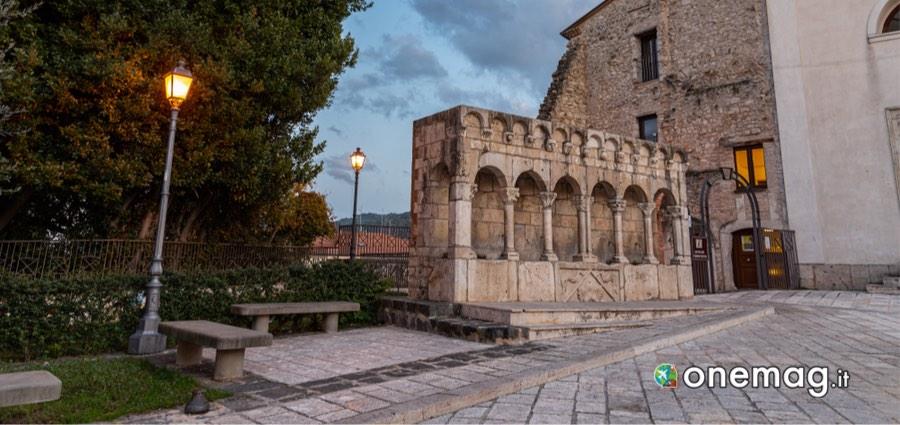 Cosa vedere a Isernia: Fontana Fraterna