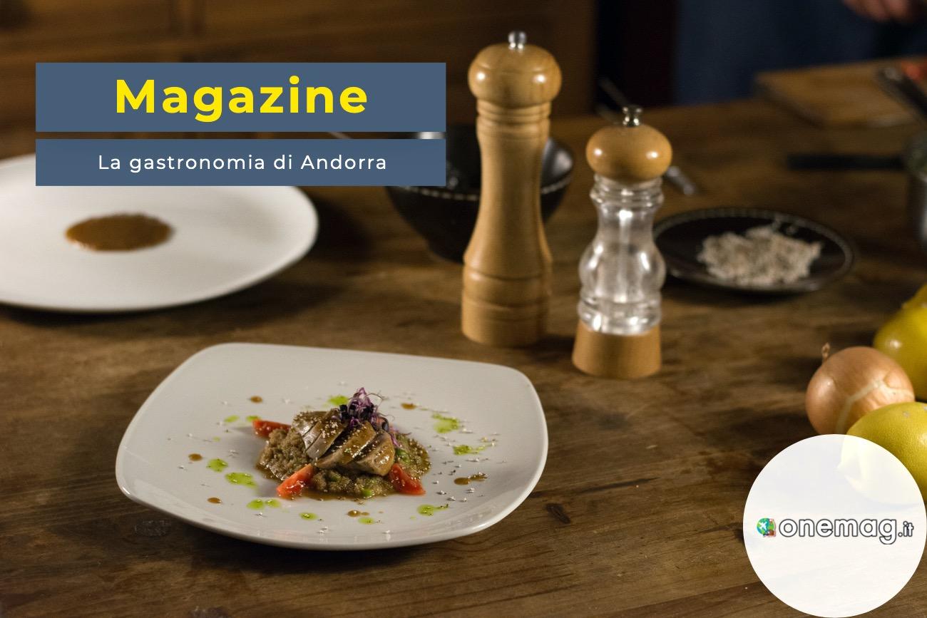 La gastronomia di Andorra