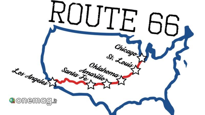 Itinerario Route 66