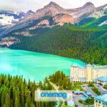 Visitare il lago Louise in Canada