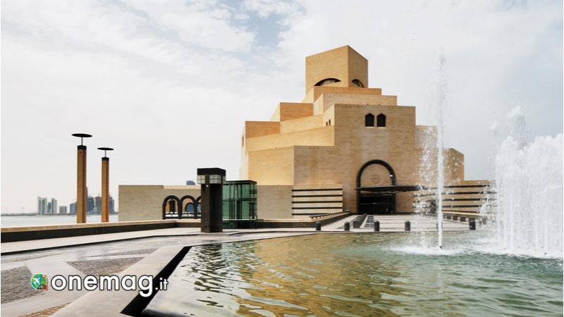 Viaggio a Doha, Museo Arte Islamica di fronte