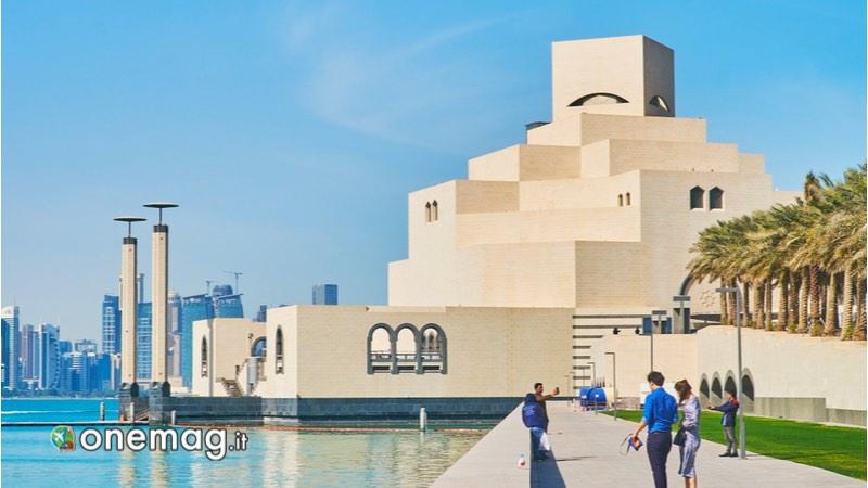 Viaggio a Doha, Museo Arte Islamica di lato