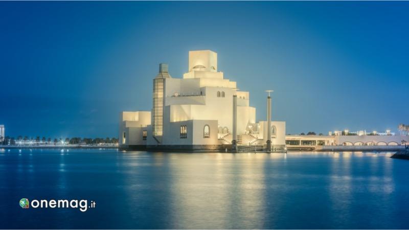 Viaggio a Doha, Museo Arte Islamica di sera