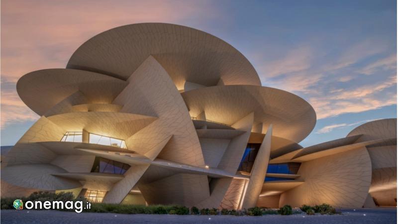 Visitare Doha, Museo Nazionale del Qatar di fronte