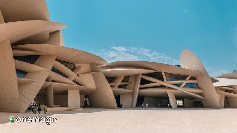Visitare Doha, Museo Nazionale del Qatar esterno
