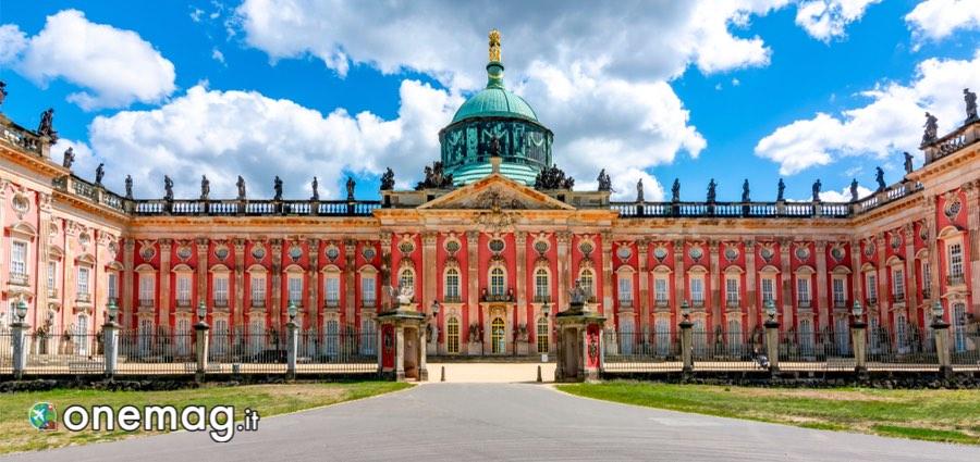 Neues Palais, facciata
