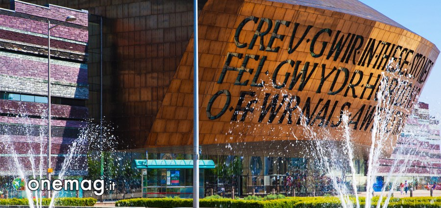 La Baia di Cardiff, Wales Millenium Centre