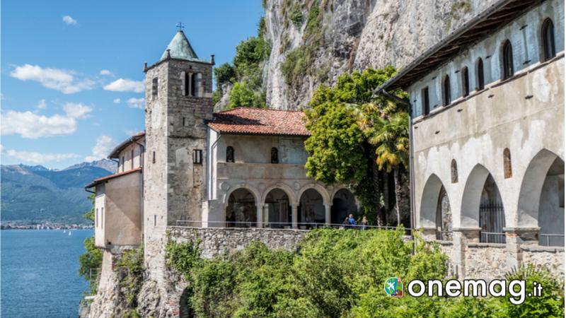Cosa vedere sul Lago Maggiore, Eremo di Santa Caterina del Sasso a Leggiuno