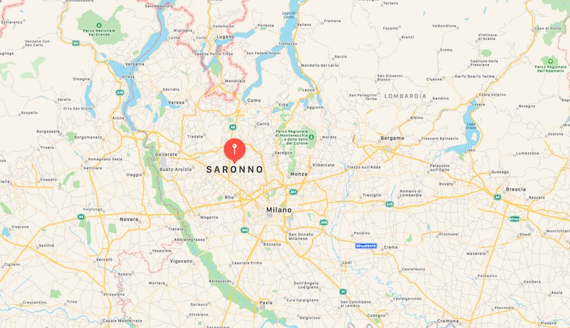 Mappa di Saronno