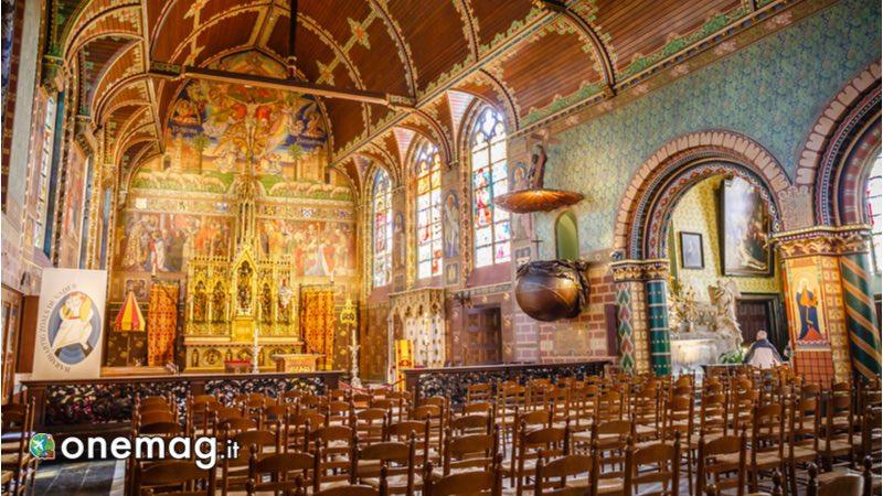 Interno della Basilica del Santo Sangue di Bruges