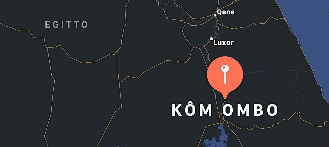 Kom Ombo, mappa