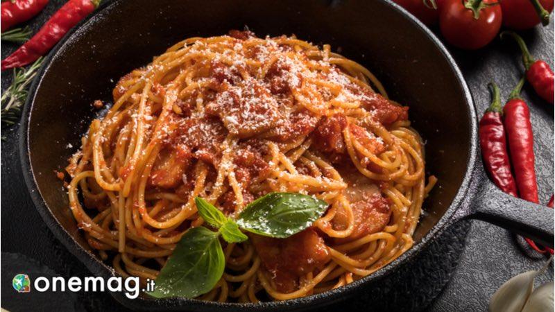Spaghetti all'Amatriciana, Gastronomia di Rieti