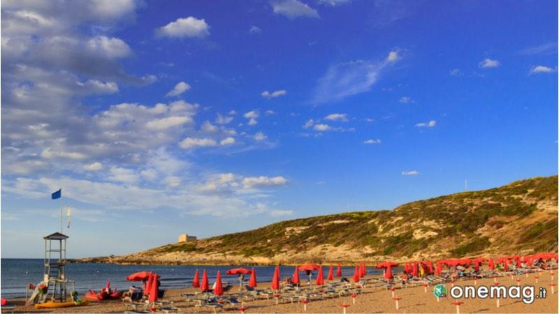 Spiaggia Cala Lunga, Puglia