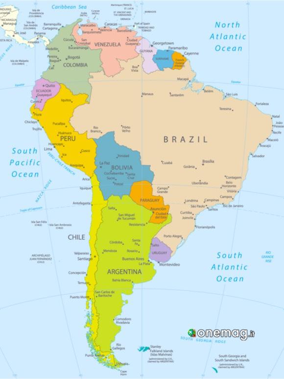 10 viaggi in Sud America