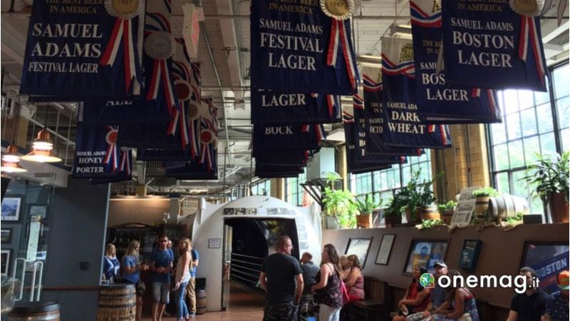 Cosa vedere a Boston, Samuel Adams Brewery