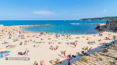 Spiaggia Plage de la Gravette, Antibes