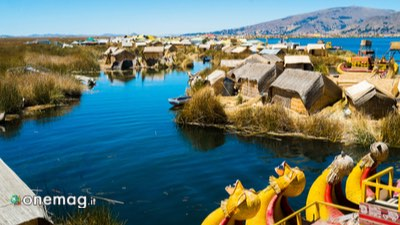 Uros Floating Islands in Puno