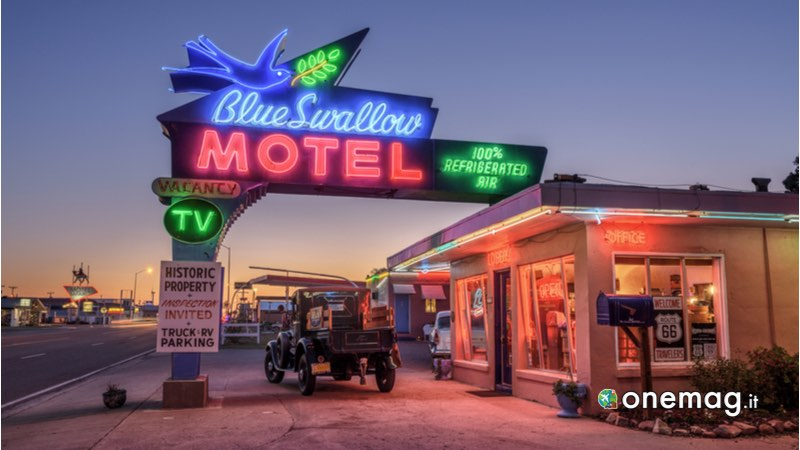 Blue Swallow Motel, Tucumcari, Route 66