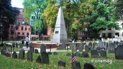 Cosa vedere a Boston, Granary Burying Ground