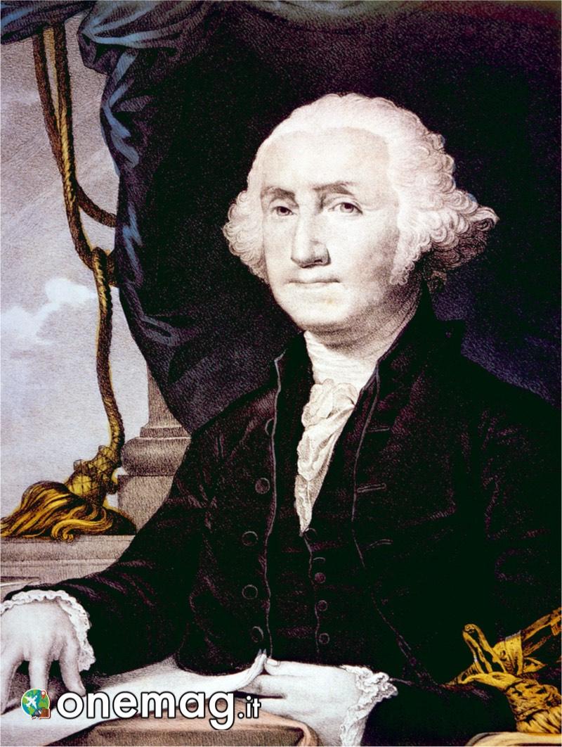 Cosa vedere a Boston, George Washington, Litografia