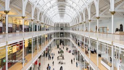 Grand Gallery Museo Nazionale della Scozia