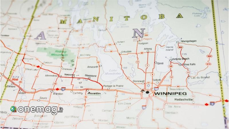 Manitoba, Mappa per i migliori Parchi Nazionali del Canada