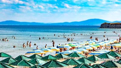 Cosa vedere a Nessebar, veduta spiaggia