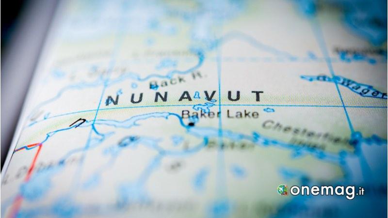 Nunavut, Mappa per i migliori Parchi Nazionali del Canada
