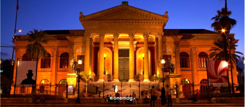 Teatro Massimo di Palermo, facciata