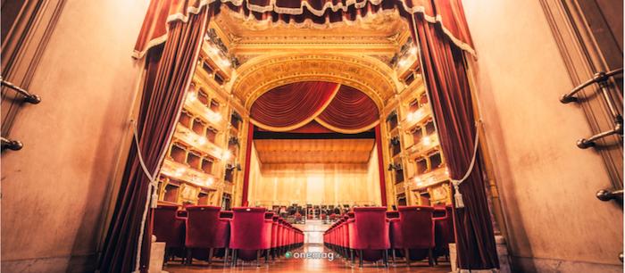 Teatro Massimo di Palermo, interni