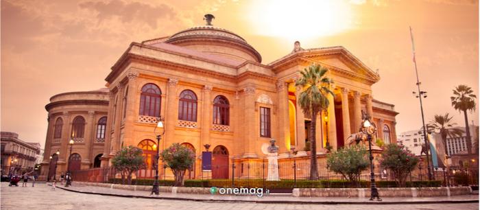 Teatro Massimo di Palermo, veduta