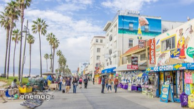 Venice Beach, ristoranti Los Angeles