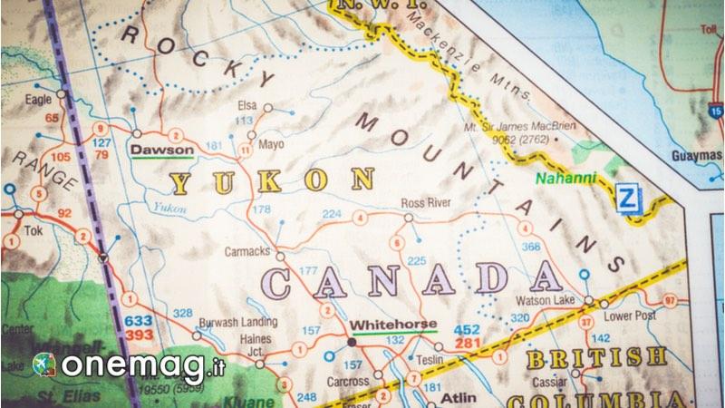 Yukon, Mappa per i migliori Parchi Nazionali del Canada
