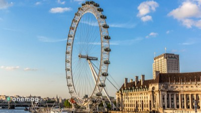 London Eye, veduta