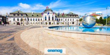 Palazzo Grassalkovich di Bratislava, la residenza del Presidente della Slovacchia
