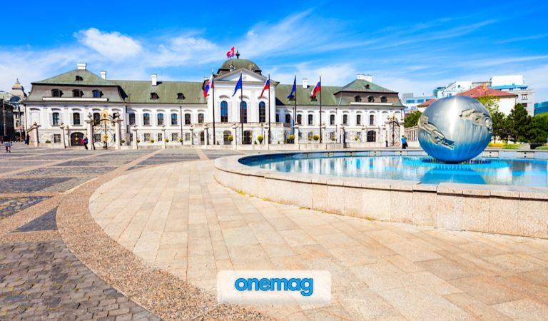 Palazzo Grassalkovich di Bratislava   La residenza del Presidente della Slovacchia