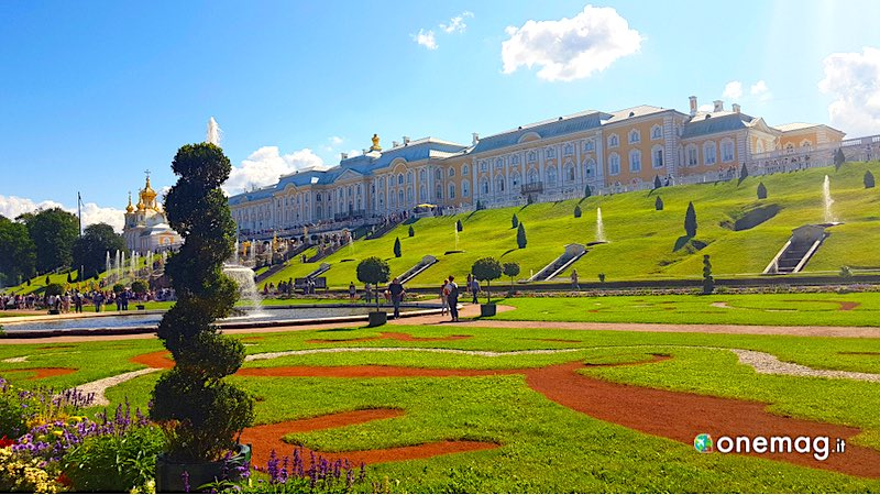 Guida alla reggia di Peterhof, San Pietroburgo